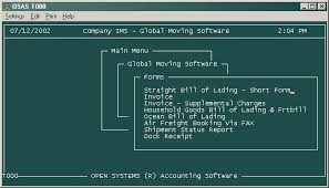 bill of lading software free global household goods and freight forwarding software