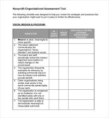 Organizational Assessment Template Amazing 44 Organizational Assessment Templates Sample Templates