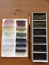 Ys Paint Color Chart Pin On Sumi E