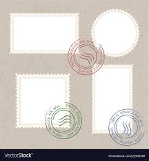 Stamps Template Postage Stamps Template Blank