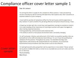 Compliance Officer Cover Letter Compliance Officer Resume Sample Joefitnessstore Com