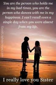 Sister Love Quotes Enchanting Top 48 Cute Brother Quotes From Sister Life Quotes Humor