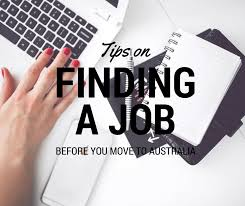 Tips To Find A Job Tips On Finding A Job Before You Move To Australia Half A