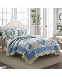 Find the Best Fall Savings on Laura Ashley Belle Cotton Quilt ... & Laura Ashley Belle Cotton Quilt (Twin), Blue Adamdwight.com