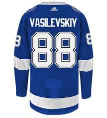 Nhl Vasilevskiy Home Adidas Authentic Bay Jersey Hockey Tampa Lightning Andrei