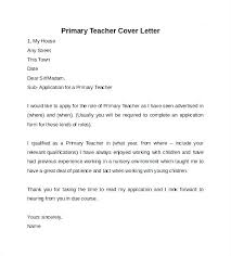 Cover Letter For Special Education Teacher Letter Of Recommendation