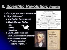 the scientific revolution i scientific method test and record  scientific revolution results 1 force people to ask questions 2