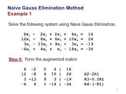 elimination method definition math naive elimination method example 1 define elimination method in math terms