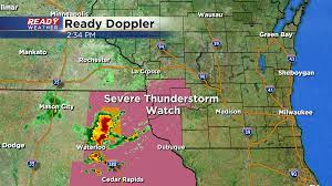 8:30 P.M. Update: Severe threat is over ...