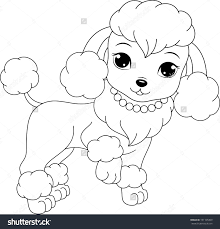 Small Picture Coloring Poodle Pages And diaetme