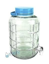 glass water bottle dispenser 3 gallon glass water bottle w faucet carboy canteen jug container jar dispenser 3 gallon glass water bottle for dispenser
