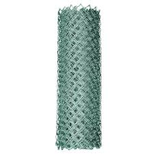 chain link fence. 11.5-Gauge Galvanized Steel Chain Link Fabric-308704A - The Home Depot Fence