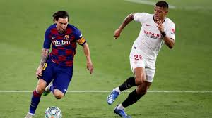 Sevilla vs barcelona highlights and full match competition: Sevilla 0 0 Barcelona Catalans Drop Points Gerard Pique Seemingly Concedes Title To Real Madrid
