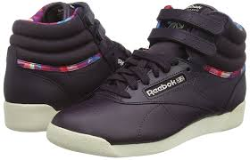 reebok high tops womens. reebok freestyle hi geo graphics women\u0027s hi-top sneakers shoes trainers high tops womens
