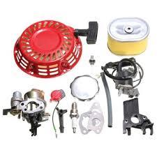 recoil carburetor <b>ignition coil spark plug</b> air filter gas cap for honda ...