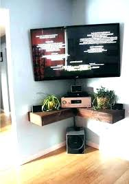corner tv stand ideas corner cabinet ideas wall mount mounting a stand photo 5 of 7
