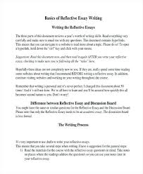 writing reflective essay examples info writing reflective essay examples reflective essay writing outline reflective essay example topics