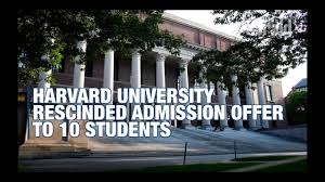 Colleges Can Rescind Admission for More ...