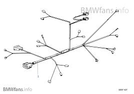 engine wiring harness bmw 3' e21 323i m20 europe n20 wiring harness engine wiring harness