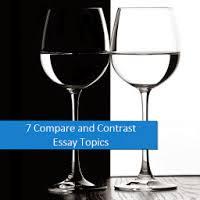 argumentative essay topics  compare and contrast essay topics