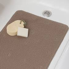 comfort foam bath mat full sized soft padded tub mat bathtub mats