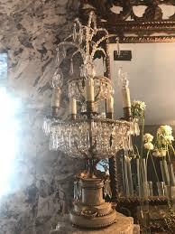 c19 th italian chandelier lights