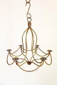 18 wrought iron mini d chandelier candle lighting