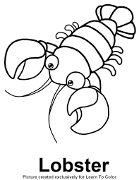 Small Picture Lobster Coloring Pages GetColoringPagescom