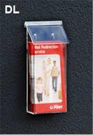 outdoor dl brochure holder