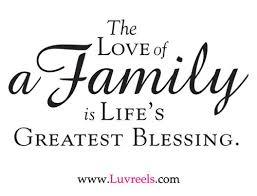 Quotes About Family And Love Amazing The Love Of A Family Is Life's Greatest Blessing Family Quote
