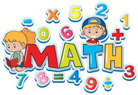 math clipart. Delighful Math Font Design For Word Math With Many Numbers And Kids Illustration  Illustration Throughout Math Clipart I