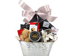 silver side gift basket