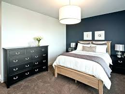 bedroom accent wall. Green Accent Wall Gray Bedroom  Transitional With Black Painted Furniture