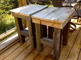 how to make a wood end table home design ideas and pictures