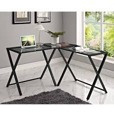 office furniture glass. awesome glass computer desk for modern office furniture design ideas