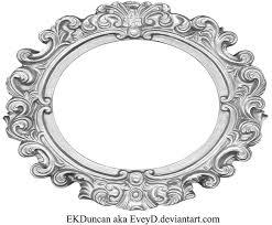 ornate silver frame wide oval by eveyd pluspng com vintage oval frame png