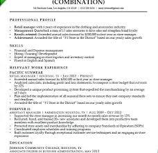 Resume Samples For Retail Sales Resume Web
