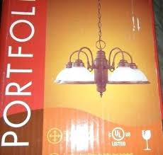 portfolio 5 light chandelier lights bathroom vanity nickel