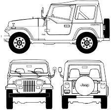 Imprimer V Hicules Voiture Jeep Num Ro 105902