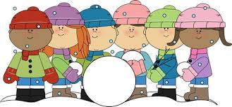 Image result for Winter children clip art