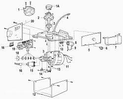 garage door parts diagram elegant chamberlain garage door opener parts diagram