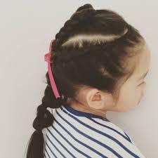 Momoyasuko3 Momo 今日のヘアスタイル 子供髪型