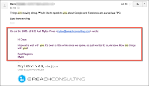 email followup dead simple follow up email template to get seo business