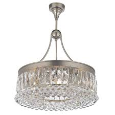 valencia 20 inch hanging chandelier with heirloom grandcut crystals 2901 20