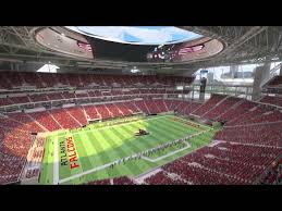 Atlanta Falcons Seating Chart 3d Video Watch The Amazing Virtual Tour Of The Mercedes Benz