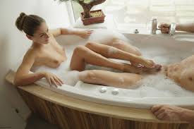Ivy in Hot Bath For Two by X Art Erotic Beauties