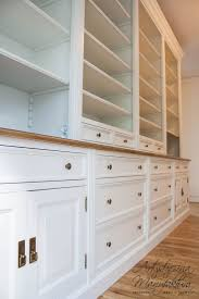 traditional custom home office. Olchowa Biblioteka Stylowa, White Traditional Bookcases, Home Office, Custom Hand Painted Furniture Office C