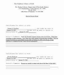 017 Doctors Note Template Microsoft Word Download Templates