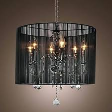 black drum shade chandelier with crystals nice crystal chandelier pendant lights black lamp shade modern crystal