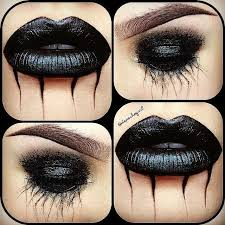 goth make up from depeche